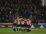 Team group during the English League One match at the Bramall Lane Stadium, Sheffield. Picture date: November 22nd, 2016. Pic Simon Bellis/Sportimage