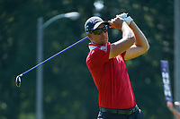 Henrik Stenson (SWE) watches his tee shot on 2 during round 4 of the WGC FedEx St. Jude Invitational, TPC Southwind, Memphis, Tennessee, USA. 7/28/2019.<br /> Picture Ken Murray / Golffile.ie<br /> <br /> All photo usage must carry mandatory copyright credit (© Golffile | Ken Murray)