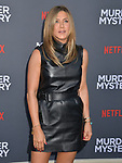 "Jennifer Aniston 055 arrives at the LA Premiere Of Netflix's ""Murder Mystery"" at Regency Village Theatre on June 10, 2019 in Westwood, California"