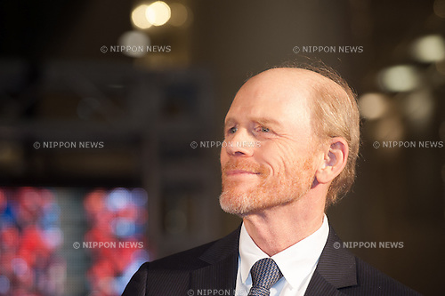 January 30, 2014 : Tokyo, Japan - Ron Howard appears at the Japan Premiere for RUSH by Ron Howard in the Yurakucho Marion, Tokyo, Japan. (Photo by Yumeto Yamazaki/NipponNews)