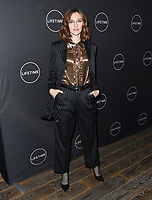 09 January 2019 - Hollywood, California - Aubrey Peeples. Lifetime Winter Movies Mixer held at The Andaz, Studio 4. Photo Credit: Birdie Thompson/AdMedia