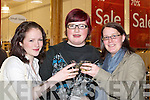 Nikki Leahy, Becea Freisinger and Kirsty Russell all Killarney at the.Fashion show in the Killarney outlet shopping centre last Thursday.