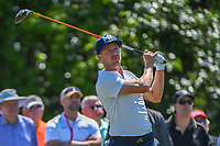 Jonas Blixt (SWE) watches his tee shot on 8 during Round 1 of the Zurich Classic of New Orl, TPC Louisiana, Avondale, Louisiana, USA. 4/26/2018.<br /> Picture: Golffile | Ken Murray<br /> <br /> <br /> All photo usage must carry mandatory copyright credit (&copy; Golffile | Ken Murray)