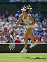 England, London, June 29, 2015, Tennis, Wimbledon, Johanna Konta (GBR)<br /> Photo: Tennisimages/Henk Koster
