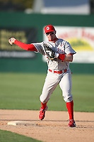 February 21, 2009:  Second baseman Cory Kovanda (17) of The Ohio State University during the Big East-Big Ten Challenge at Jack Russell Stadium in Clearwater, FL.  Photo by:  Mike Janes/Four Seam Images