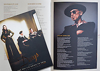Kevin Rowland image in the new Dexys Programme.