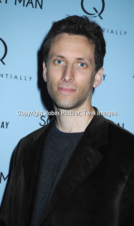 """Ben Shenkman attending  The New York Premiere of """"Solitary Man"""" starring Michael Douglas, Jenna Fischer, Imogen Poots at Cinema 2 on May 11, 2010 in New York City."""