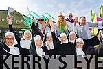 Tralee Musical society Sister Act at Tralee Saint Patrick's day parade on Tuesday.