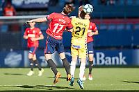 Xisco (forward; CA Osasuna) during the Spanish <br /> la League soccer match between CA Osasuna and CD Lugo at Sadar stadium, in Pamplona, Spain, on Saturday, <br /> April 28, 2018.