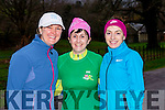 Clodagh Quirke, Tina O'Donoghue and Linda morris at the 5k Parkrun in Muckross Park on Saturday