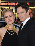 Anna Paquin and Stephen Moyer attends The Los Angeles Premiere for the seventh and final season of HBO's series TRUE BLOOD held at The TCL Chinese Theater in Hollywood, California on June 17,2014                                                                               © 2014 Hollywood Press Agency