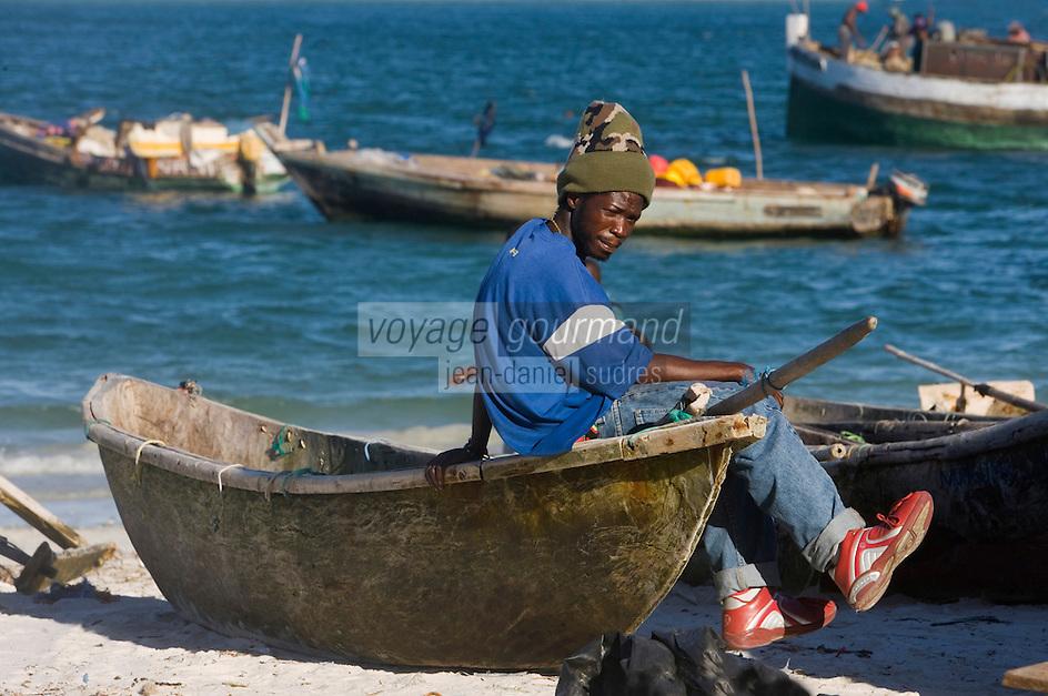 Afrique/Afrique de l'Est/Tanzanie/Dar es-Salaam: le port de pèche