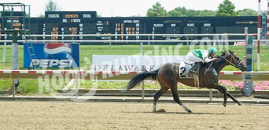 Timber Love winning at Delaware Park on 6/29/10