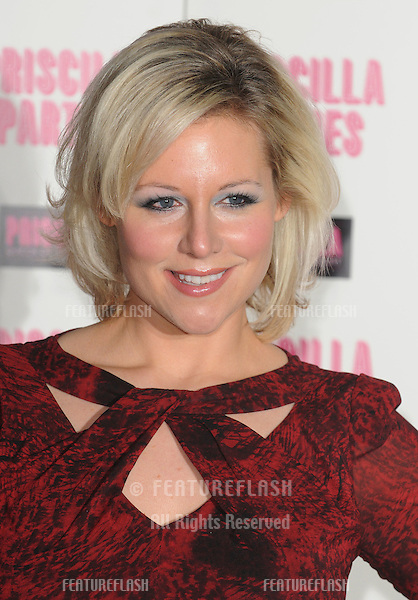Abi Titmuss attends the Priscilla Parties Launch .at the Palace Theatre, London.  .January 24, 2011 London, United Kingdom.Picture: Gerry Copper / Featureflash..