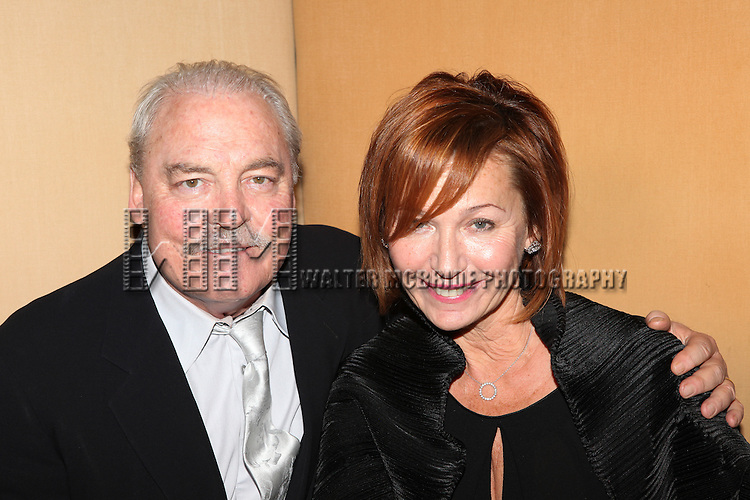 Stacy Keach and wife Malgosia Tomassi.attends the Opening Night After Party for the Lincoln Center production of 'Other Desert Cities' at Josephina Restaurant in New York City.