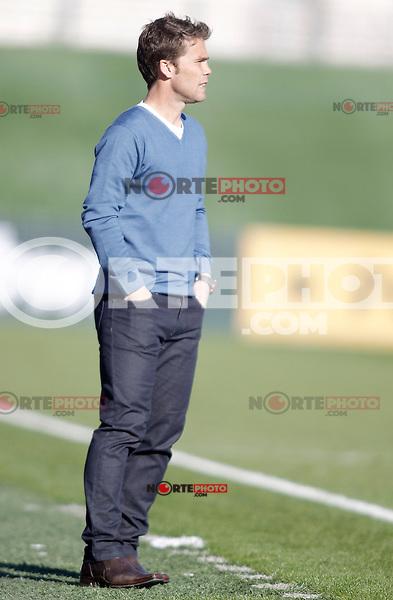Girona's Joan Francesc Ferrer during La Liga match. January 13, 2013. (ALTERPHOTOS/Alvaro Hernandez)