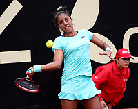 BOGOTÁ -COLOMBIA, 11-04-2018:Daniela Seguel de Chile venció a la alemana Tatjana Maria,durante el Claro Open Colsánitas WTA  international event que se juega en El Club Los Lagartos al norte de la Capital ./  Daniela Seguel of Chile won to Tatjana Maria of Germany , during the Claro Open Colsánitas WTA international event that is played at El Club Los Lagartos north of the Capital. Photo: VizzorImage/ Felipe Caicedo / Staff