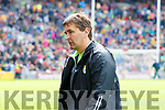 Maurice Fitzgerald of the Kerry Management team after the All Ireland Senior Football Quarter Final with Galway at Croke Park on Sunday.