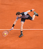 ANDY MURRAY (GBR)<br /> <br /> Tennis - French Open 2015 -  Roland Garros - Paris -  ATP-WTA - ITF - 2015  - France <br /> <br /> &copy; AMN IMAGES