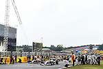 F1 Starting Grid - Nico Rosberg (GER), Mercedes GP - Sebastian Vettel (GER), Red Bull Racing<br />  Foto © nph / Mathis