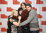 "Abigail Breslin, Isabelle Fuhrman, Alex Wolff and Joe Tippett attends the New Group's ""All the Fine Boys"" rehearsal photocall at their rehearsal studio on February 3, 2017 in New York City."