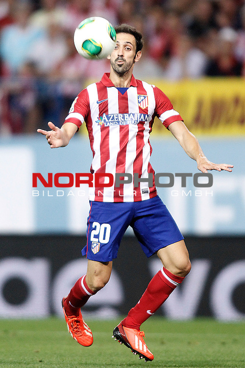 Atletico de Madrid's Juanfran Torres during Supercup of Spain 1st match.August 21,2013. Foto © nph / Acero)