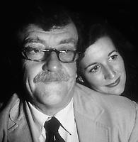 Kurt Vonnegut and Jill Krementz 1981<br />Photo By Adam Scull/PHOTOlink.net /MediaPunch