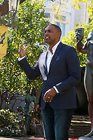 LOS ANGELES - JAN 25:  Jason George at the Greet the Actor Statue - SAG Event at The Grove on January 25, 2017 in Los Angeles, CA