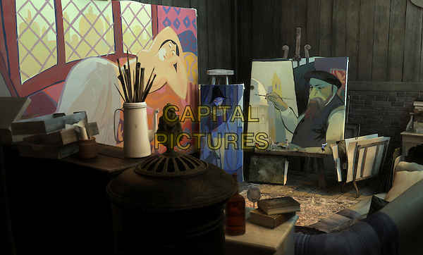 SCENE.in The Painting (2011).(Le Tableau) .*Filmstill - Editorial Use Only*.CAP/NFS.Supplied by Capital Pictures.