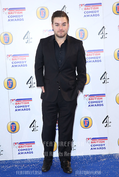 Alex Brooker arriving for The British Comedy Awards 2013 held at Fountain Studios, London. 12/13/2012 Picture by: Henry Harris / Featureflash