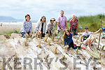 Annascaul Adventures and Volunteers Front Moira Spillane, Sean Spillane, Back l-r Moira Spillane Snr., Elizabeth Brookes, Oonagh Ni She, Noel Spillane, Doris Pryer planting marram grass at Inch Beach on Sunday