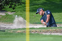 Yusaku Miyazato (JAP) hits from the trap on 1 during the preview of the World Golf Championships, Mexico, Club De Golf Chapultepec, Mexico City, Mexico. 2/28/2018.<br /> Picture: Golffile | Ken Murray<br /> <br /> <br /> All photo usage must carry mandatory copyright credit (&copy; Golffile | Ken Murray)