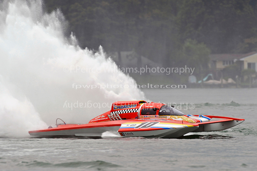 "Mike Weber, GP-10 ""The Charger"" (Grand Prix Hydroplane(s)"