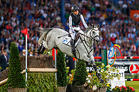 GER-Ingrid Klimke during the Jump and Drive. 2019 GER-CHIO Aachen Weltfest des Pferdesports. Saturday 20 July. Copyright Photo: Libby Law Photography