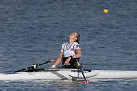Sarasota. Florida USA. NOR PR W1X.  Birgit SKARSTEIN, Sunday Final's Day at the  2017 World Rowing Championships, Nathan Benderson Park<br /> <br /> Sunday  01.10.17   <br /> <br /> [Mandatory Credit. Peter SPURRIER/Intersport Images].<br /> <br /> <br /> NIKON CORPORATION -  NIKON D500  lens  VR 500mm f/4G IF-ED mm. 200 ISO 1/1250/sec. f 7.1