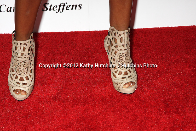 LOS ANGELES - AUG 2:  Shanola Hampton arrives at the Carmen Steffens West Coast Flagship Store Opening at Hollywood & Highland on August 2, 2012 in Los Angeles, CA