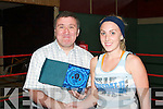 WINNER: Denis Guerin, Lixnaw, pictured with Katie Purtill after winning International Bachelor of 2007..