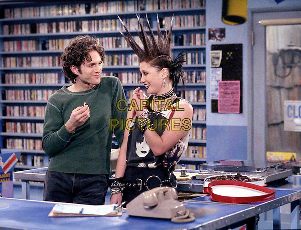 CHYLER LEIGH & GLENN HOWERTON.in That 80's Show .Filmstill - Editorial Use Only.Ref: FB.www.capitalpictures.com.sales@capitalpictures.com.Supplied by Capital Pictures