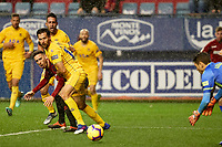 Kike Barja (forward; CA Osasuna) during the Spanish football of La Liga 123, match between CA Osasuna and AD Alcorcón at the Sadar stadium, in Pamplona (Navarra), Spain, on Sanday, December 16, 2018.