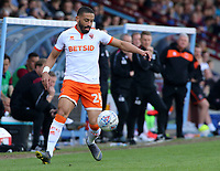 Blackpool's Liam Feeney in action<br /> <br /> Photographer David Shipman/CameraSport<br /> <br /> The EFL Sky Bet League One - Scunthorpe United v Blackpool - Friday 19th April 2019 - Glanford Park - Scunthorpe<br /> <br /> World Copyright © 2019 CameraSport. All rights reserved. 43 Linden Ave. Countesthorpe. Leicester. England. LE8 5PG - Tel: +44 (0) 116 277 4147 - admin@camerasport.com - www.camerasport.com