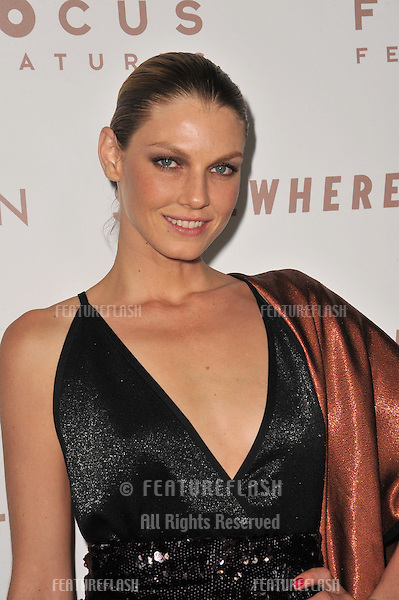 "Angela Lindvall at the Los Angeles premiere of her new movie ""Somewhere"" at the Arclight Theatre, Hollywood..December 7, 2010  Los Angeles, CA.Picture: Paul Smith / Featureflash"