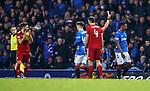 05.12.2018 Rangers v Aberdeen: Alfredo Morelos booked