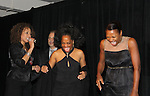 """Tamara Tunie - Rhonda Ross - Deb Koenigsberger at The Fourteenth Annual Hearts of Gold Gala """"Hooray for Hollywood!"""" - with its mission to foster sustainable change in lifestyle and levels of self-sufficiency for homeless mothers and their children on October 28, 2010 at the Metropolitan Pavillion, New York City, New York. (Photo by Sue Coflin/Max Photos)"""