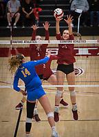 Stanford Volleyball W v UCLA, November 17, 2019