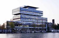 Nederland Amsterdam - 2019. Amsteldok. Kantoor van WPP.    Foto Berlinda van Dam / Hollandse Hoogte
