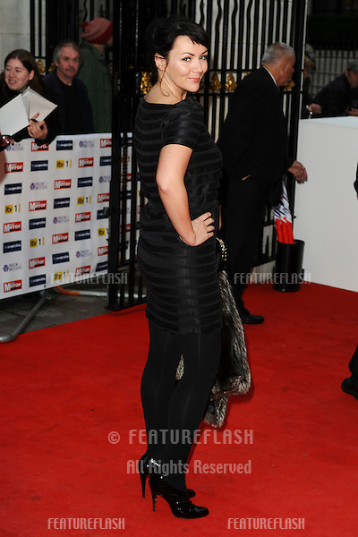 Martine McCutcheon arriving for the Pride of Britain Awards 2009, held at Grosvenor House, London. 05/10/2009. Picture by: Steve Vas / Featureflash