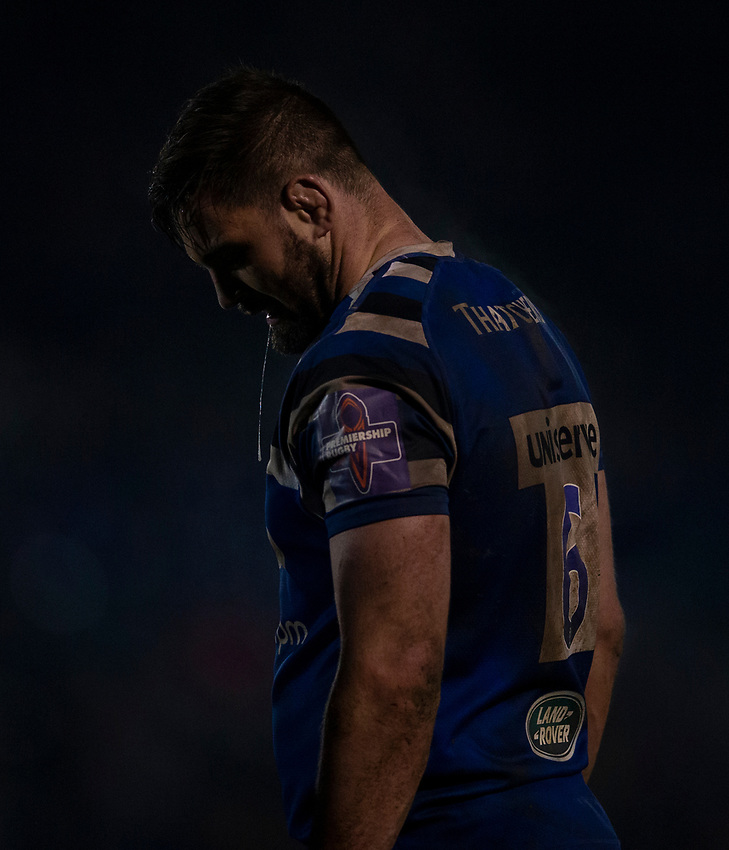 Bath Rugby's Elliott Stooke <br /> <br /> Photographer Bob Bradford/CameraSport<br /> <br /> Gallagher Premiership - Bath Rugby v Gloucester Rugby - Monday 4th February 2019 - The Recreation Ground - Bath<br /> <br /> World Copyright © 2019 CameraSport. All rights reserved. 43 Linden Ave. Countesthorpe. Leicester. England. LE8 5PG - Tel: +44 (0) 116 277 4147 - admin@camerasport.com - www.camerasport.com