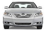 Straight front view of a 2008 Toyota Camry XLE