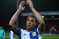 Blackburn Rovers' Elliott Bennett at the end of the game<br /> <br /> Photographer Rachel Holborn/CameraSport<br /> <br /> The EFL Sky Bet League One - Blackburn Rovers v Shrewsbury Town - Saturday 13th January 2018 - Ewood Park - Blackburn<br /> <br /> World Copyright &copy; 2018 CameraSport. All rights reserved. 43 Linden Ave. Countesthorpe. Leicester. England. LE8 5PG - Tel: +44 (0) 116 277 4147 - admin@camerasport.com - www.camerasport.com