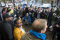 2014/10/21 Berlin | Pressekonferenz Flüchtlinge | Gerhard Hauptmann-Schule